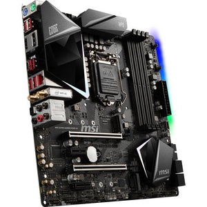 MSI Motherboard Z390MEDGEAC MPG Z390M GAMING EDGE AC LGA1151 Core 9000 64GB DDR4 HDMI DisplayPort Micro-ATX Retail
