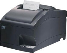 STAR MICRONICS, SP742MD GRY US, IMPACT, PRINTER, CUTTER, SERIAL, GRAY, POWER SUPPLY INCLUDED