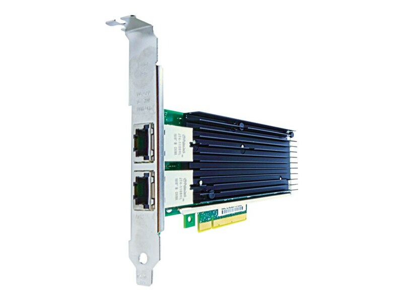 Axiom 10Gbs Dual Port RJ45 PCIe x8 NIC Card for Intel - X540T2