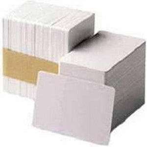 HID FARGO, CONSUMABLES, ULTRACARD ADHESIVE MYLAR-BACKED CR-79 10 MIL CARD, 500 CARDS, PRICED PER BOX