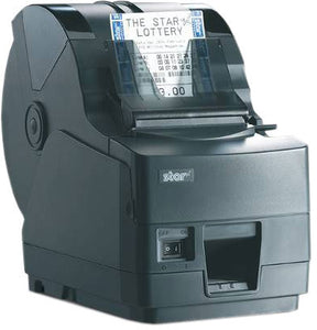 STAR MICRONICS, TSP1043U-24GRY, THERMAL, PRINTER, CUTTER, USB, GRAY, 80MM PAPER, LARGE ROLL CAPACITY, SLIP STACKER, REQUIRES POWER SUPPLY #30781870 (REPLACES 39462410), NON-CANCELLABLE, NON-RETURNABL