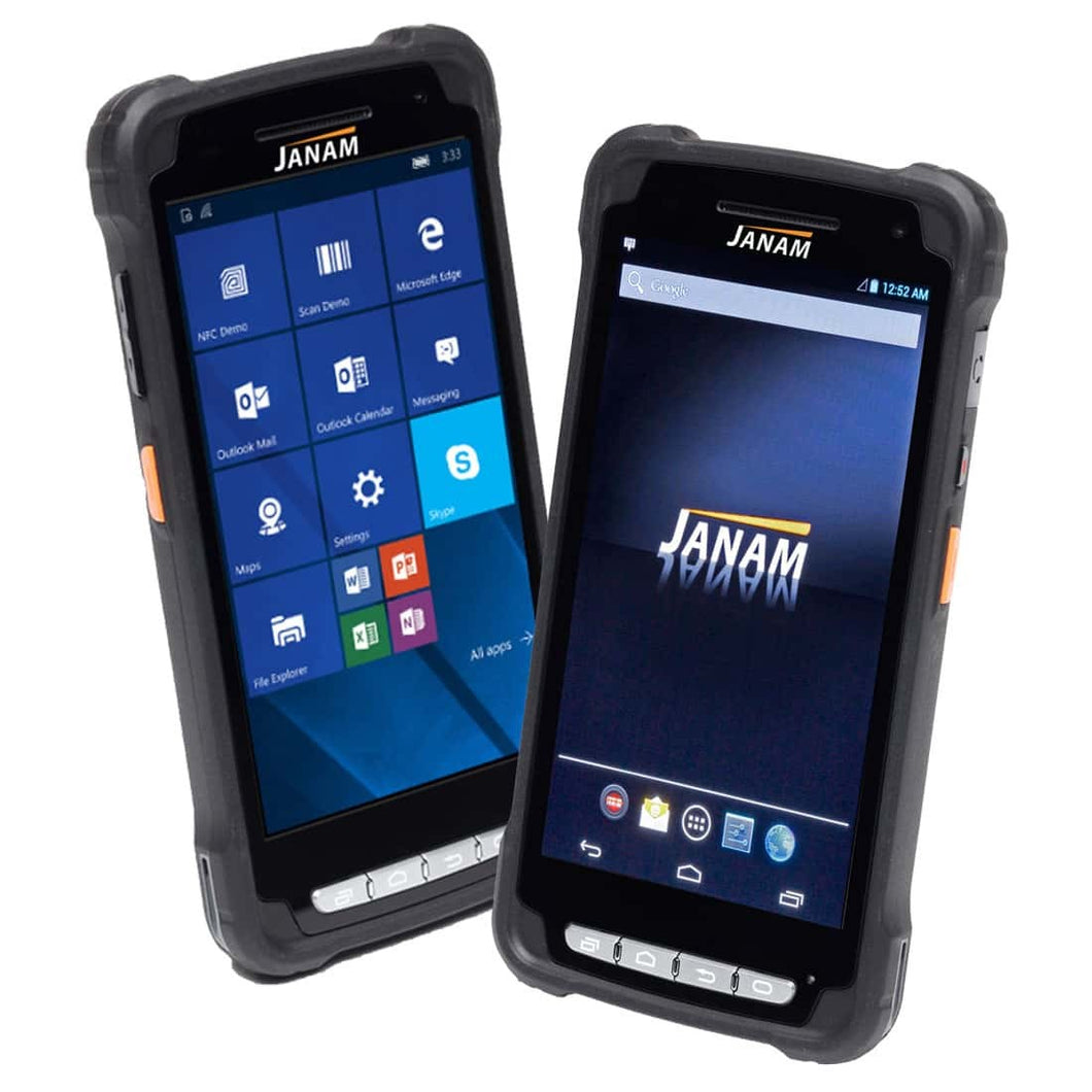 JANAM, XT2, ANDROID 5.X (GMS), 2D IMAGER, 802.11A B G N, BLUETOOTH, FRONT REAR CAMERA, GPS, 1GB/8GB, AC ADAPTER, 3000MAH BATTERY, EOL ONCE STOCK IS DEPLETED