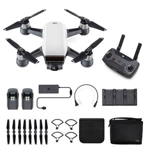 DJI Drone CP.PT.000899 SPARK FlyMore Combo-Alpine White Retail