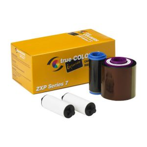 ZEBRACARD, CONSUMABLES, YMCUVK TRUE COLOURS IX SERIES COLOR RIBBON, ZXP SERIES 7 COMPATIBLE, 750 IMAGES PER ROLL, PRICED PER ROLL