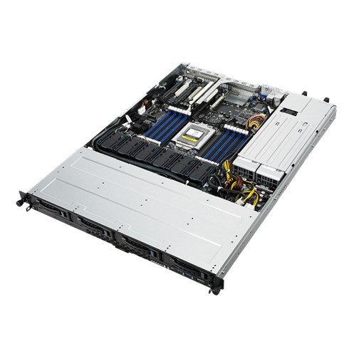Asus System RS500A-E9-RS4-U 1U 180 Watts AMD EPYC 7000 Series DDR4 PCIE USB 4x3.5 inch HotSwap  Retail