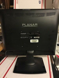 "PLANAR, PLL1710, 17"" BLACK LED LCD WITH ANALOG AND DVI-D"