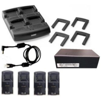 ZEBRA EVM, MC32 4 SLOT BATTERY CHARGER KIT (INTL), KIT INCLUDES: 4 SLOT BATTERY CHARGER SAC7X00-4000CR, BATTERY ADAPTERS ADP-MC32-CUP0-04 AND P/S PWRS-14000-148R, REQUIRES 23844-00-00R