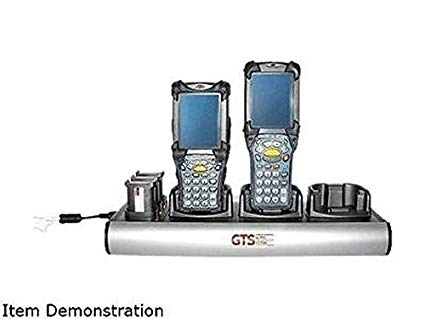 GLOBAL TECHNOLOGY SOLUTIONS, GTS, CHARGERS AND CHARGING HOLSTERS, ZEBRA, MC9000/91XX/92XX, GTS EXCLUSIVE (3 CRADLES + 3 BATTERIES)