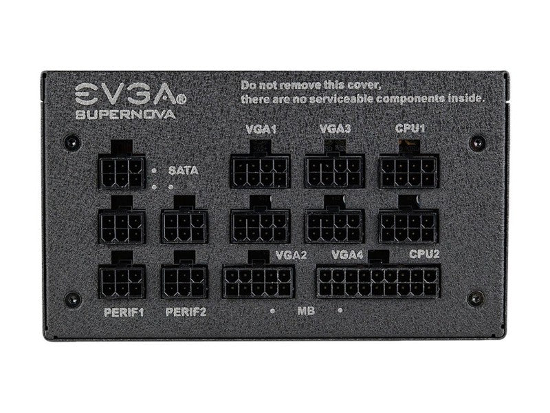 EVGA Power Supply 120-GP-0650-X1 EVGA SuperNOVA 650 G1+ 650W 12V ATX 80 Plus Gold with Free Power on Self Tester PSU Retail