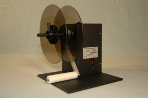"LABEL ACC, 8"" O.D. EXT. REWINDER, 1""-4"" ROLL WIDTH, 3"" CORE"