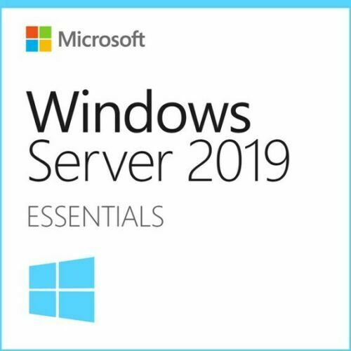 Microsoft Software G3S-01299 Windows Server Essential 2019 16C with DVD Media Bulk Pack