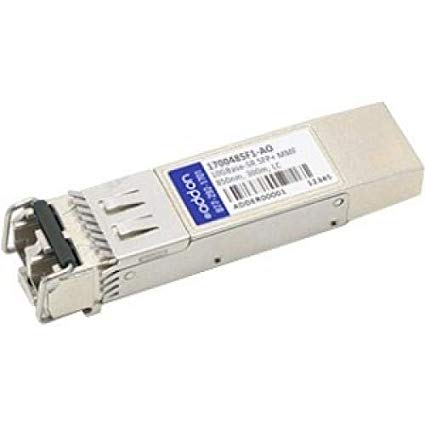 This ADTRAN 1700485F1 compatible SFP+ transceiver provides 10GBase-SR throughput