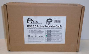 SIIG Cable JU-CB0611-S1 USB 3.0 Active Repeater Cable 10M Brown Box