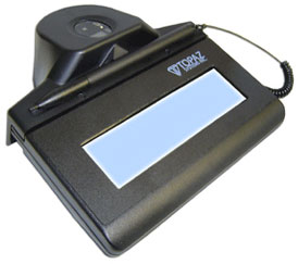 TOPAZ, IDLITE LCD 1X5 WITH FINGERPRINT READER COMBO (USB BACKLIT), WITH SOFTWARE