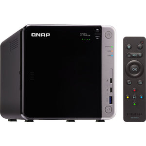QNAP Network Attached Storage TS-453BT3-8G-US 4Bay Celeron J3455 1.5GHz 8GB DDR3L SATA Retail
