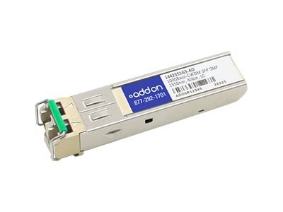 This ADTRAN 1442351G3 compatible SFP transceiver provides 1000Base-CWDM throughp