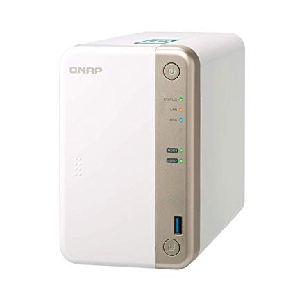 QNAP Network Attachment Storage TS-251B-2G-US 2Bay 2GB Celeron J3355 dual-core 2.0GHz DDR3L Retail
