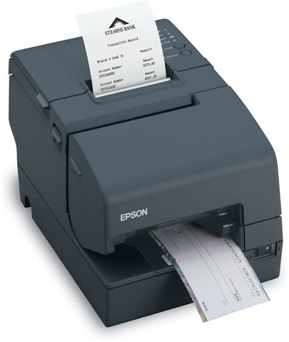 EPSON, TM-H6000IV, EOL, REFER TO H6000V, EPSON BLACK, MICR AND ENDORSEMENT POWERED USB AND USB INTERFACES, PS-180 NOT INCLUDED