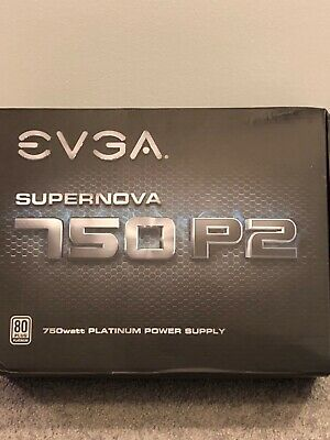 EVGA Power Supply 220-P2-0750-X1 SuperNOVA 750 P2 Platinum 750W with Free Power on Self Tester PSU Retail