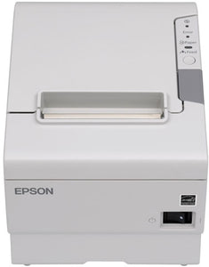 EPSON, TM-T88V, THERMAL RECEIPT PRINTER - ENERGY STAR RATED, EPSON COOL WHITE, USB & SERIAL INTERFACES, PS-180 POWER SUPPLY, REQUIRES A CABLE