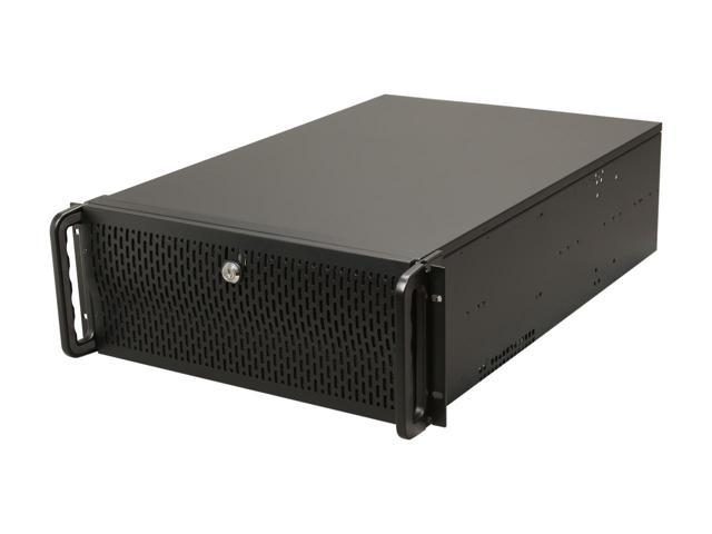 Rosewill Case RSV-L4500 Server 4U 15Bays 8Fans USB E-ATX Black Metal/Steel Retail