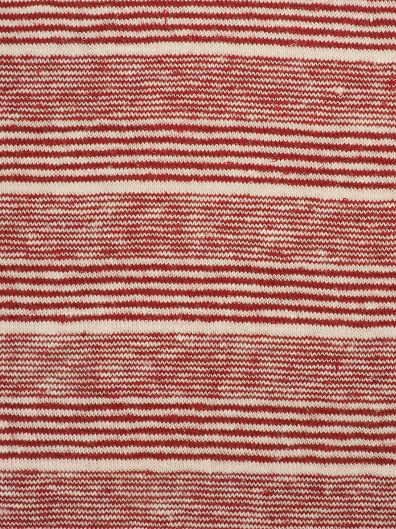 Hemp & Organic Cotton Mid-Weight Yarn Dyed Stripe Jersey Fabric ( KJ12839  TWO COLORS AVAILABLE ) - Hemp Fortex