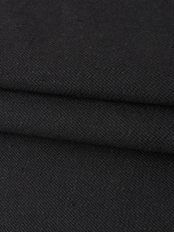 Hemp & Organic Cotton Heavy Weight Twill Black Denim Fabric(HG14550B)