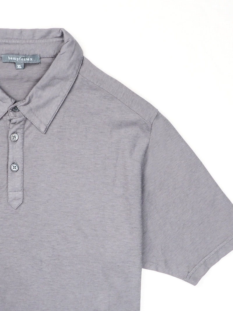 Hemp, Organic Cotton Light Weight Polo Shirt (17SS020M )
