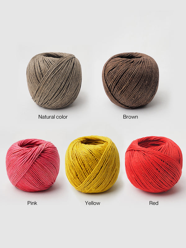 Pure Hemp Twine, 16 Balls Packed - Free Shipping