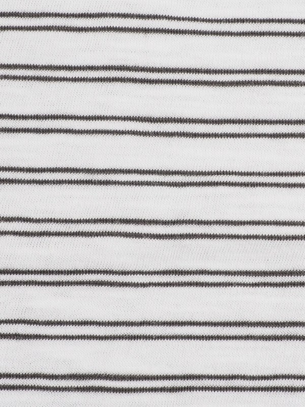 Pure Organic Cotton Light Weight Yarn Dyed Stripe Jersey (KJ36D861D / KJ30D814D)