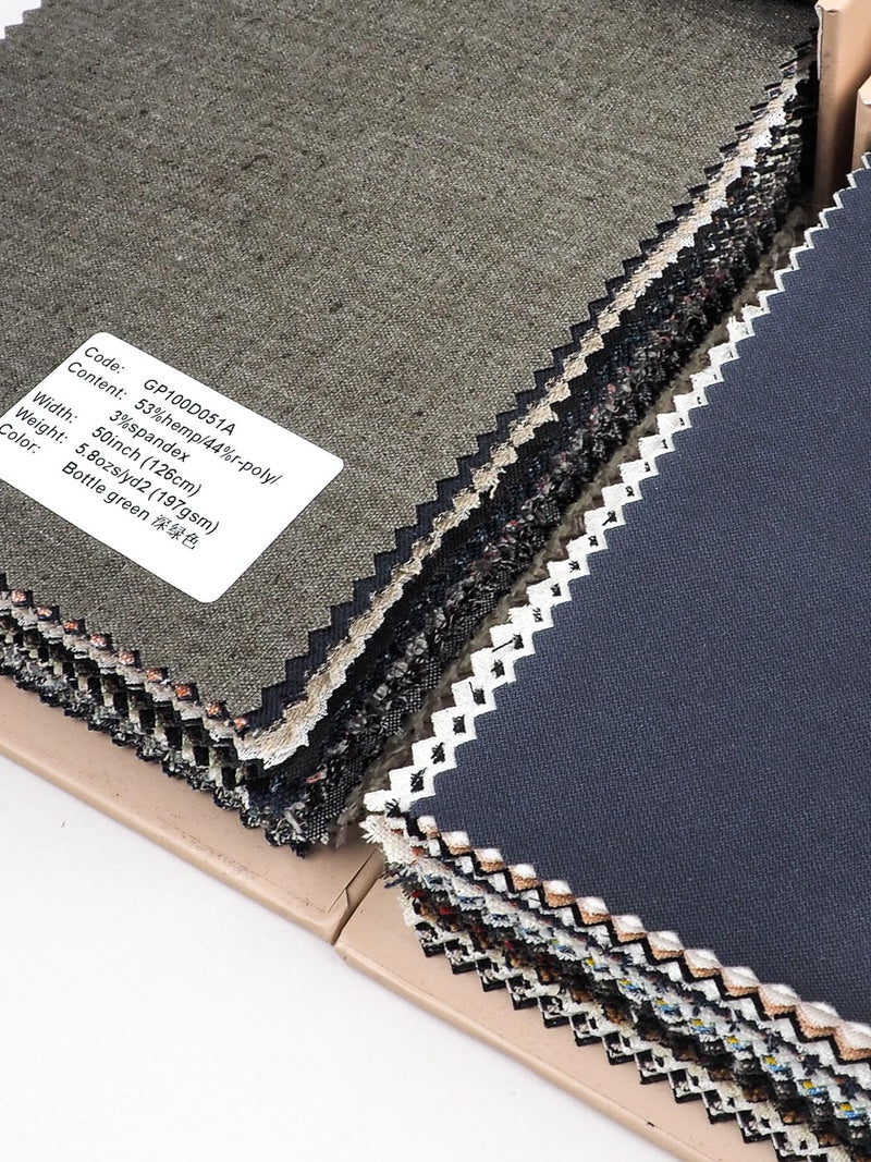 Woven Fabric Swatch Book