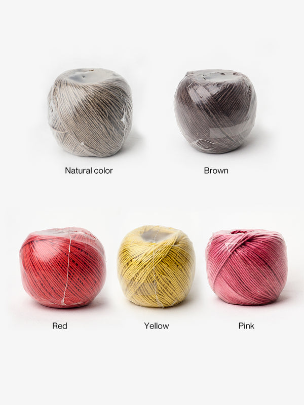 Pure Hemp Twine, 5 Balls Packed - Free Shipping