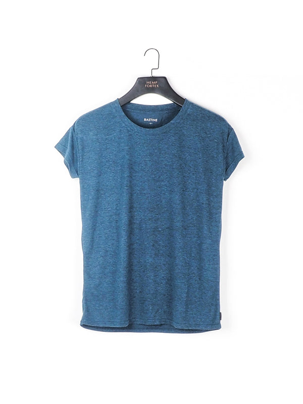 Hemp , Recycled Polyester & Tencel Women's Hemp Tencel Blended T-shirt (BST015)