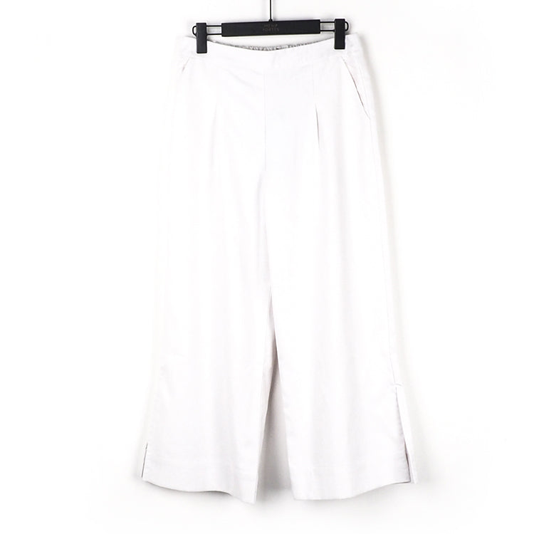 Hemp & Recycled Polyester Women's Woven Long Pants (BST023-1)