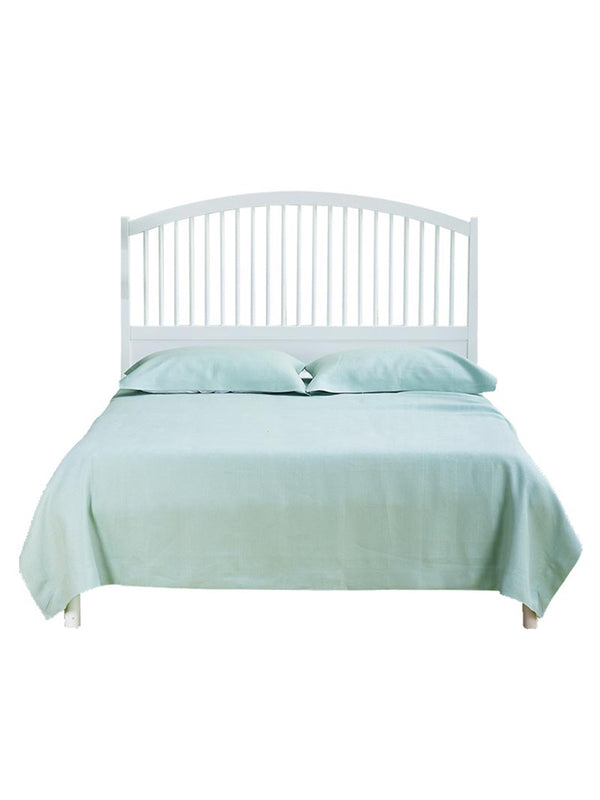 LZ   Pure Hemp Pillowcase Three-piece Four Seasons Breathable And Hygro-absorbent Pure Color Bedding