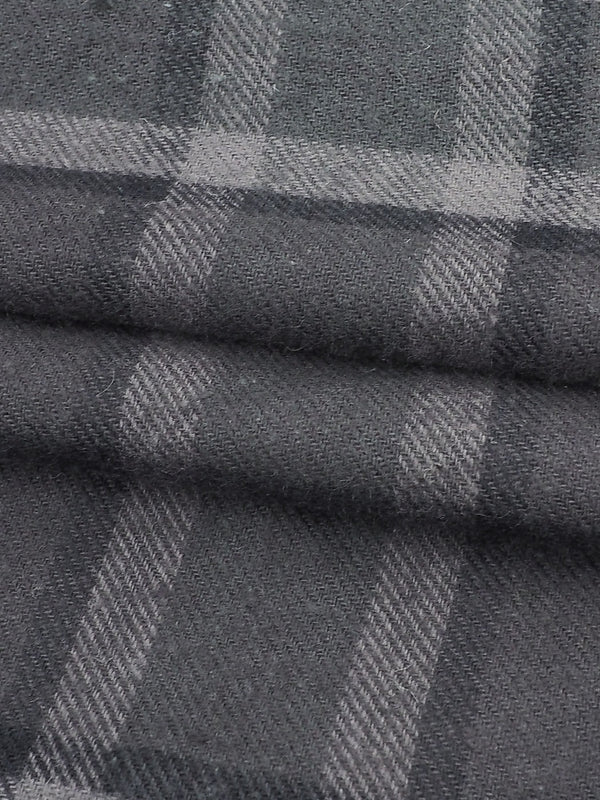 Hemp & Organic Cotton Mid-Weight Twill Flannel Fabric ( GH66E181J )