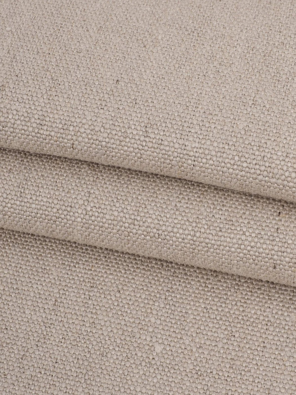 Pure Hemp Heavy Weight Canvas Fabric ( HE09126 Natural Color )