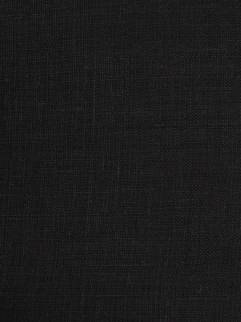Pure Hemp Light Weight Muslin Fabric(HE104 Black)