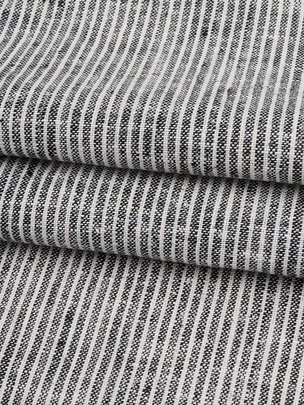 Hemp & Organic Cotton Light Weight Stripe Yarn Dyed Fabric ( HG12651I )