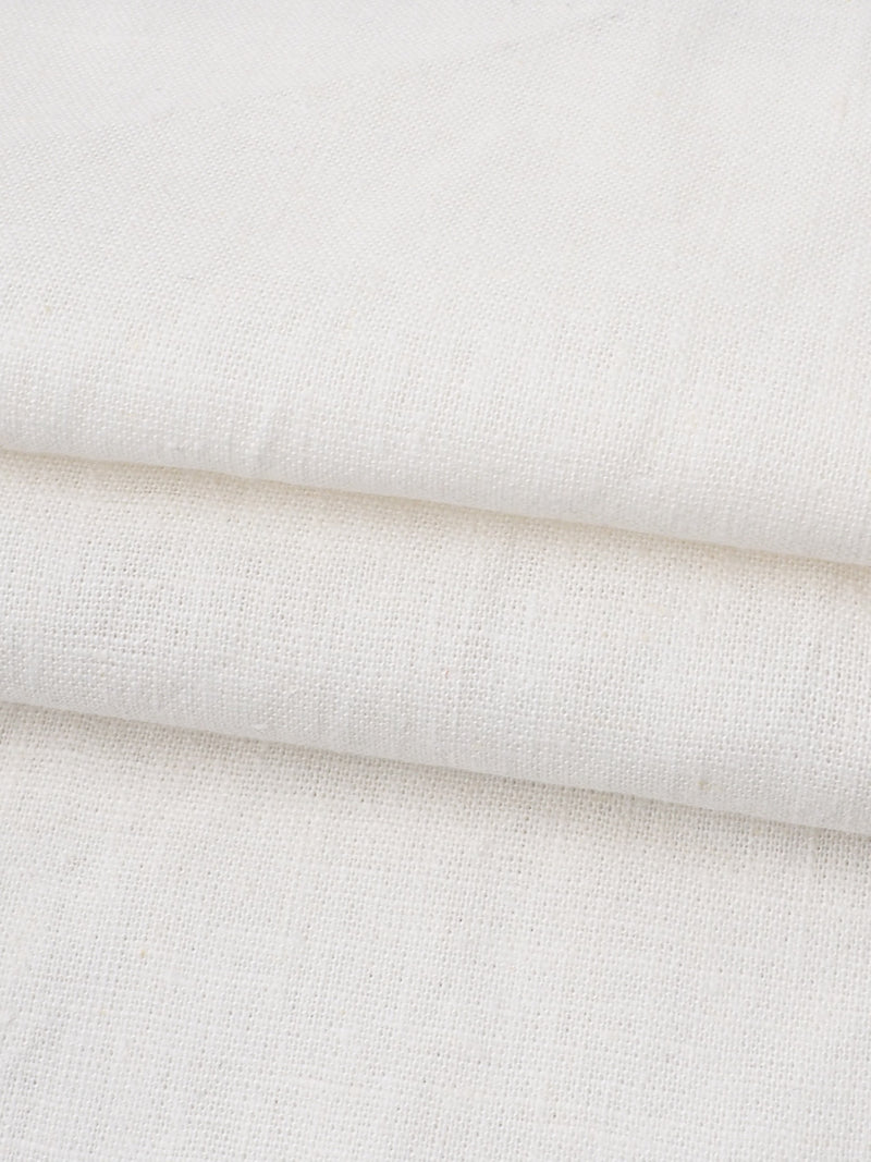 Hemp & Organic Cotton Mid-Weight Muslin Fabric (HG203 Two Colors Available)