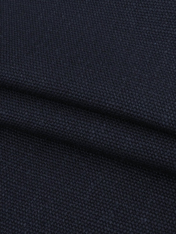 Hemp & Organic Cotton Heavy Weight Canvas Fabric ( HG205 Navy Blue Color ) - Hemp Fortex