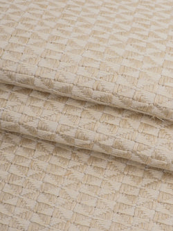 Hemp & Linen Heavy Weight Herringbone Fabric(HL403 Natural Color) - Hemp Fortex