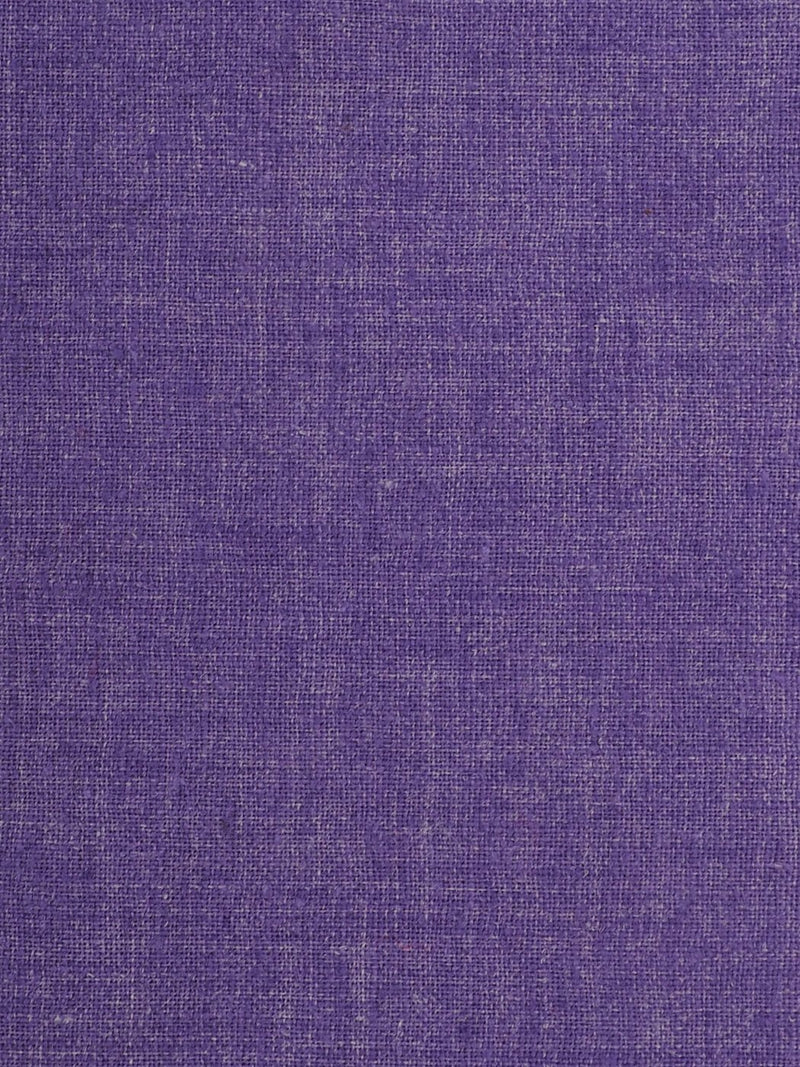 Hemp & Recycled Poly Light Weight Purple Muslin Fabric ( HP5801 )