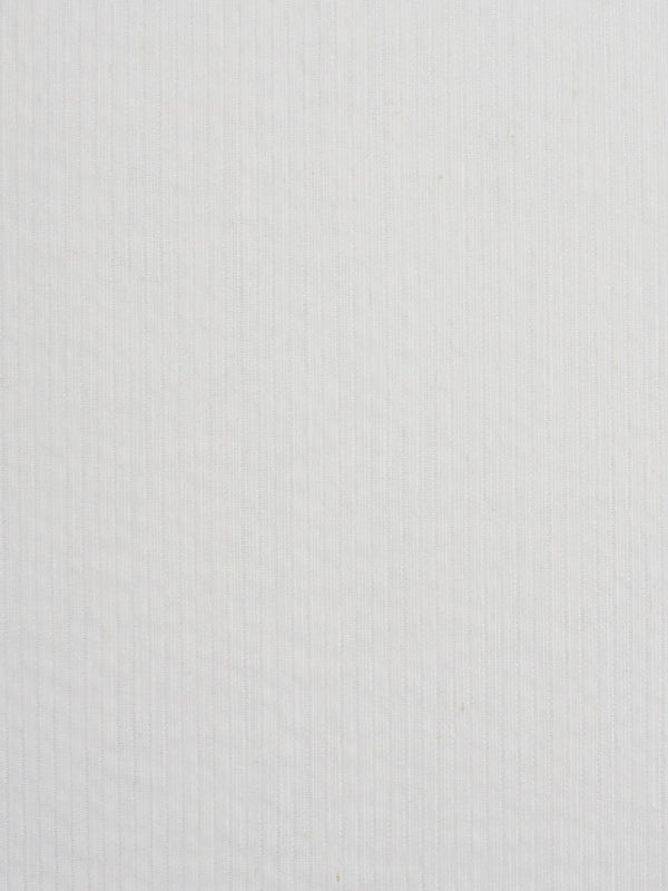 Hemp, Organic Cotton & Silk Light Weight Jacquard Fabric ( SH08036 Natural White ) - Hemp Fortex