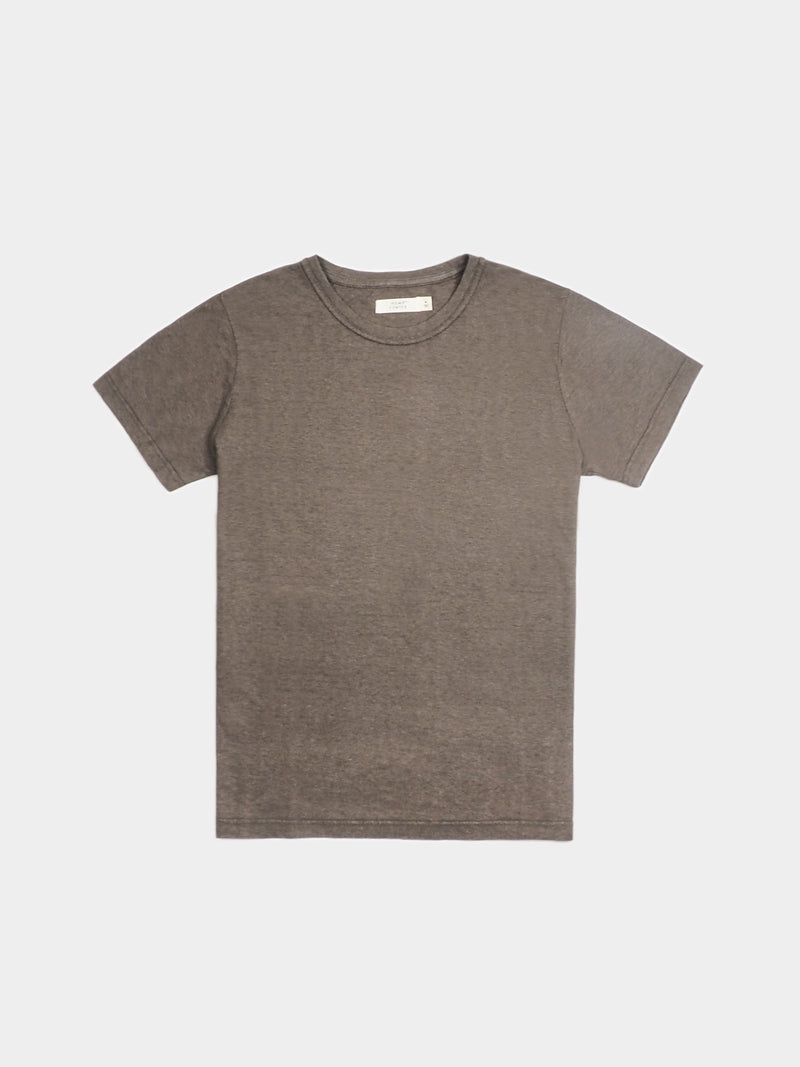 Hemp, Organic cotton Blended Men's Round Collar Short-Sleeved T-shirt (HTCQ12)( 8 Colors Available)