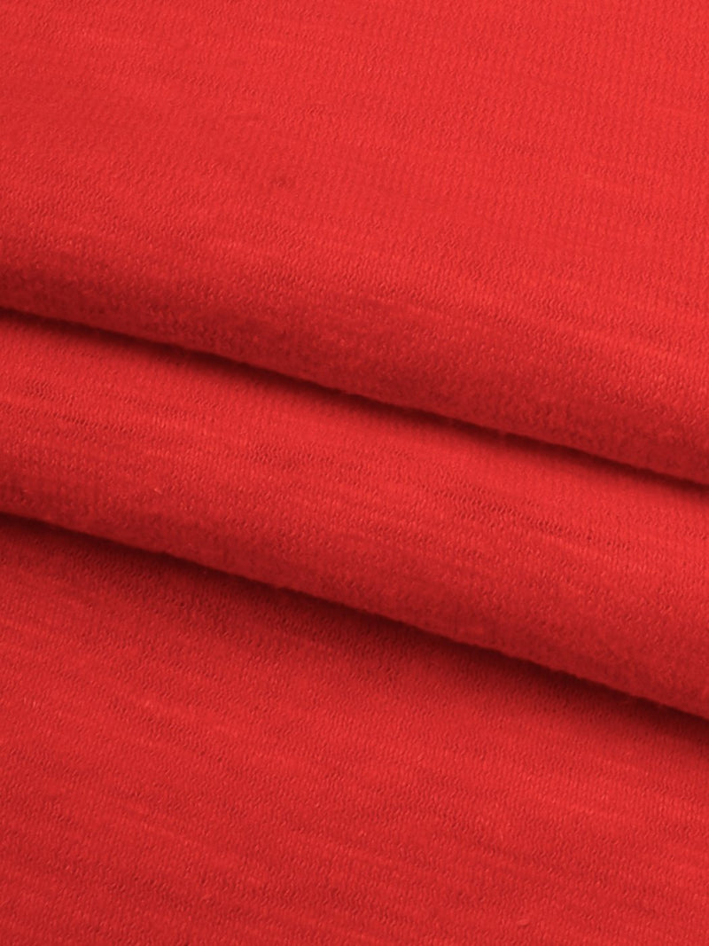 Hemp & Organic Cotton Mid-Weight Slub Jersey Fabric(KJ08172B Four Colors Available) - Hemp Fortex