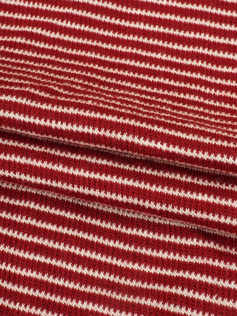 Hemp & Organic Cotton Mid-Weight Stripe Jersey Yarn Dyed Fabric  ( KJ13855 Two Colors Available ) - Hemp Fortex