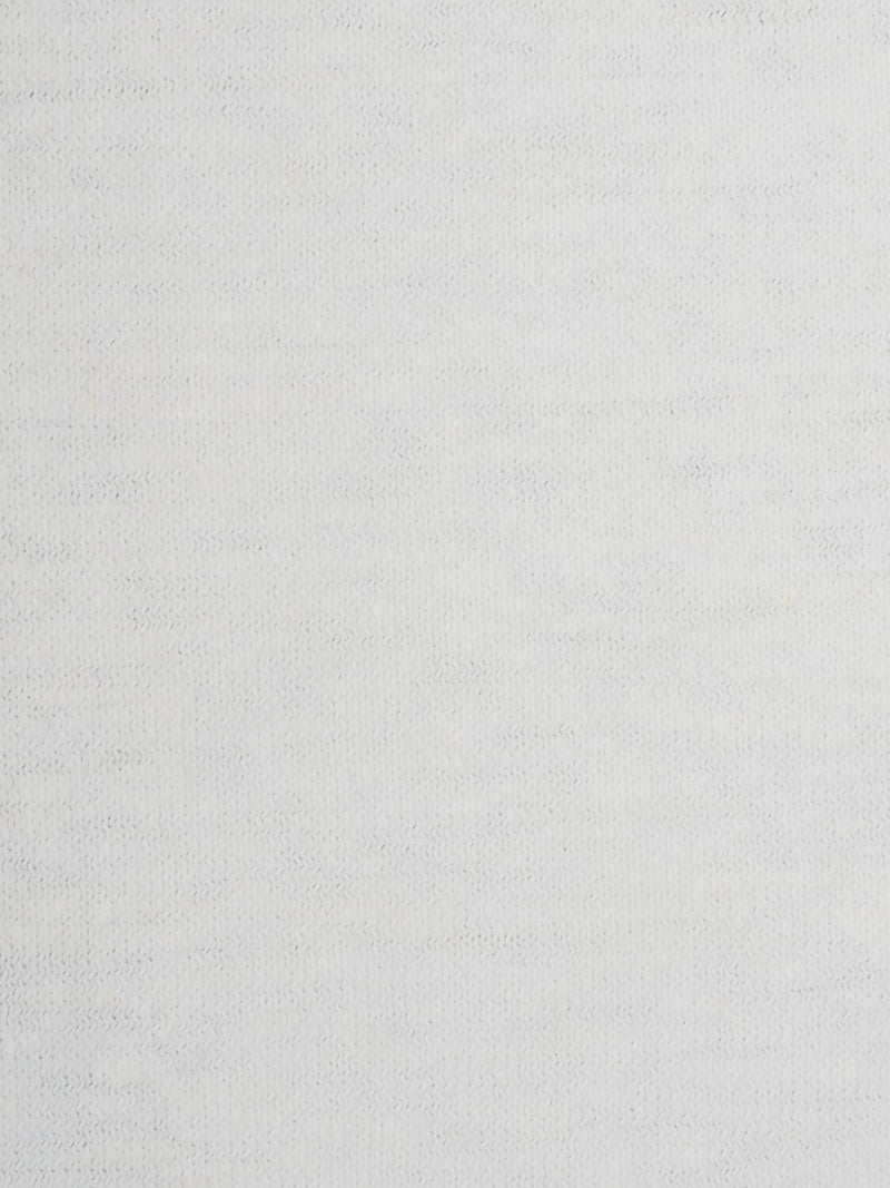 Hemp & Organic Cotton Mid-Weight Jersey Fabric(KJ2020 White Color) - Hemp Fortex