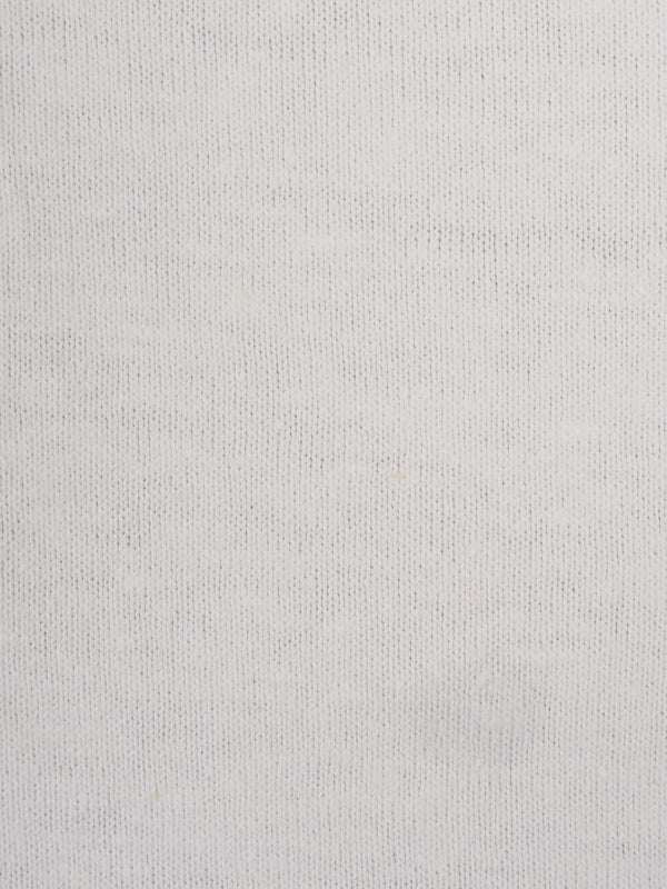 Hemp & Organic Cotton Mid-Weight Jersey Fabric ( KJ2024C White Color ) - Hemp Fortex