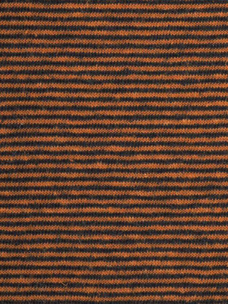 Hemp & Organic Cotton Mid-Weight Yarn Dyed Stripe Jersey Fabric ( KJ21A1752-A42B ) - Hemp Fortex